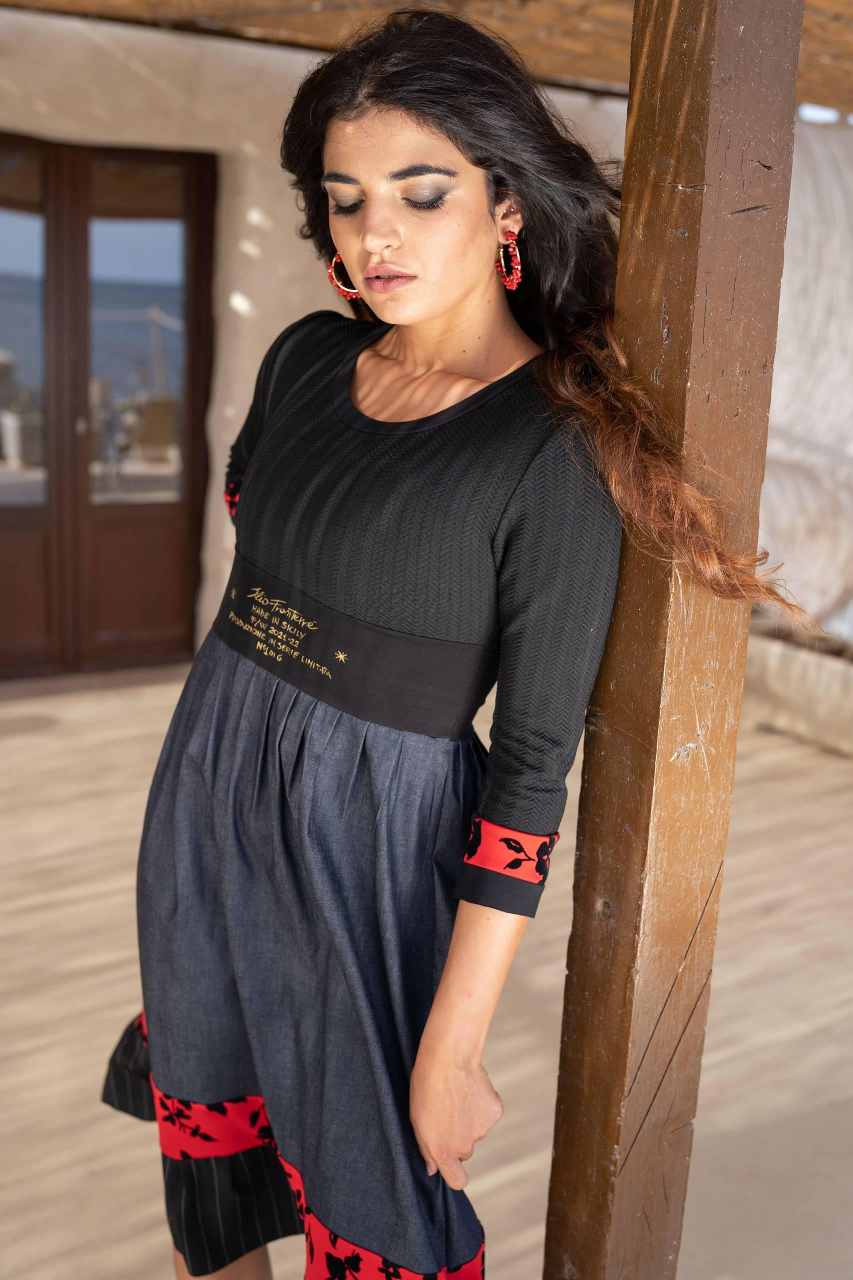 Fashion Abiti Donna madeinItaly sicilia Online Collezione Autunno Inverno 2021 Elio Fronterre Limited Edition Remix 12 scaled