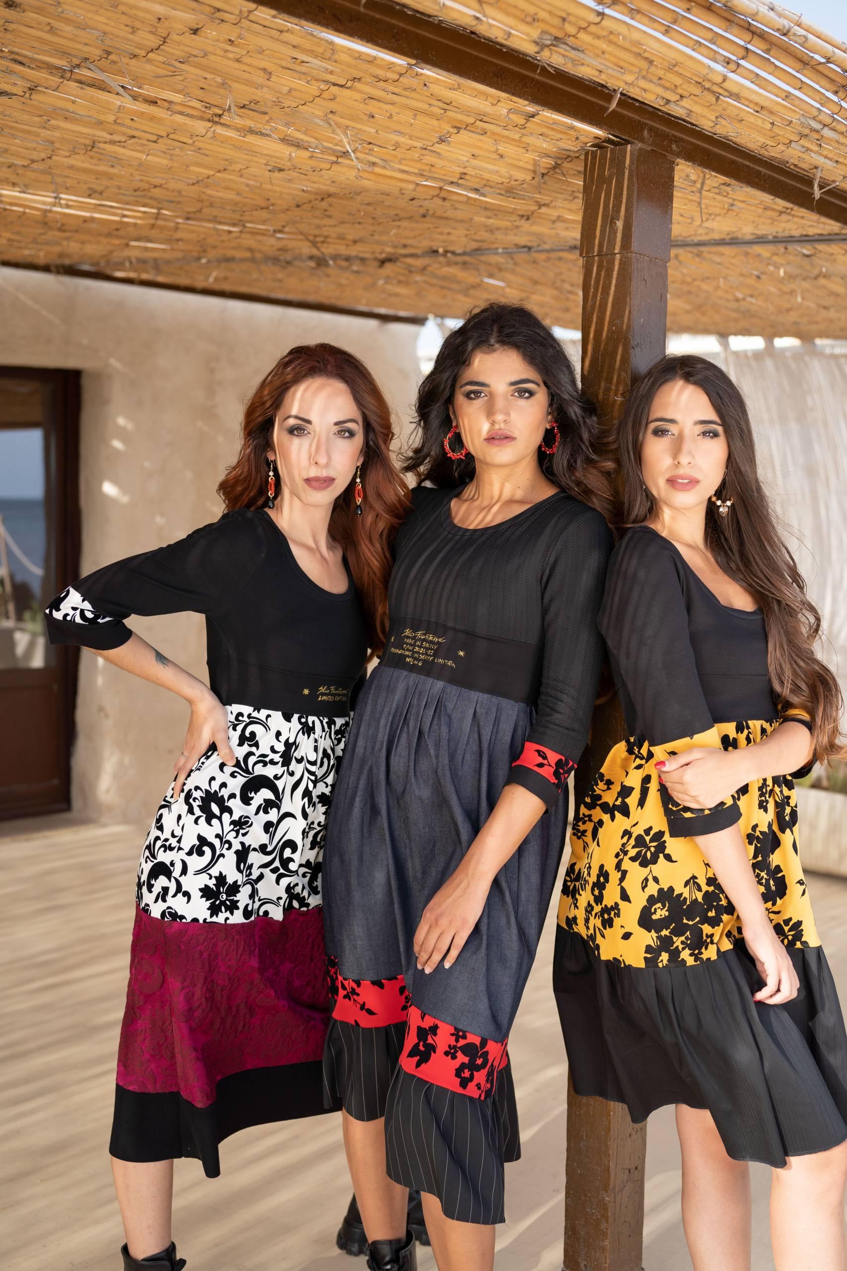 Fashion Abiti Donna madeinItaly sicilia Online Collezione Autunno Inverno 2021 Elio Fronterre Limited Edition Remix 13 scaled